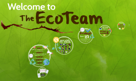 Welcome to the Eco Team!