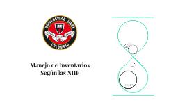 Manejo de Inventarios Según las NIIF