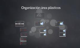 Organización área plásticos