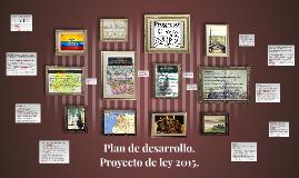 Plan de desarrollo.