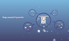 Mapa mental ergonomia