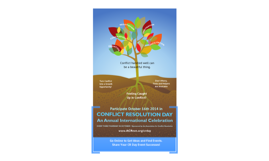 Conflict Resolution Day 2014 is October 16th