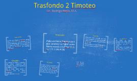 Trasfondo 2 Timoteo