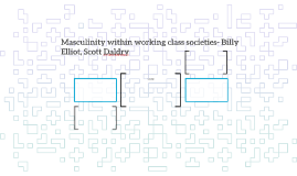 Masculinity within working class societies- Billy Elliot, Sc