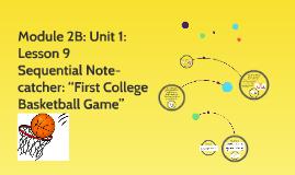 Module 2B: Unit 1: Lesson 9