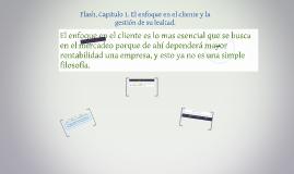 Flash, Capitulo 1. El enfoque en el cliente y la gestión de