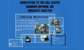 Orientation to the call center