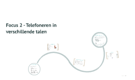 Focus 2 - Telefoneren in verschillende talen