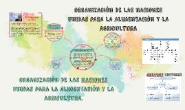 organización DE LAS nACIONES Unidas para la alimentación y l