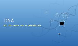 Ma2 BKGT H3 Oorzaken van criminaliteit