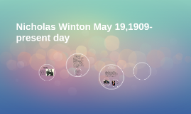 Nicholas Winton May 19,1909-?