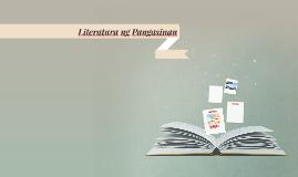 Literatura ng Pangasinan