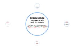 IGCSE MUSIC