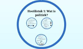 HAVO 4 politiek