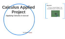 Calculus Applied Project