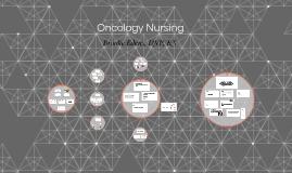 Oncology Nursing Spring 18