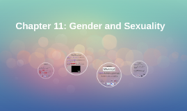 Chapter 11: Gender and Sexuality