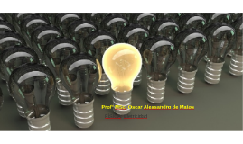 Profº MSc. Oscar Alessandro de Matos