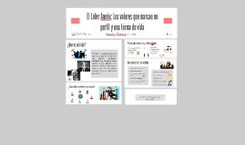 El Líder Aneño: Los valores que marcan un perfil y una forma