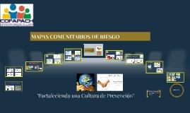 Copy of Mapa Comunitario de Riesgos
