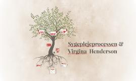 Sygeplejeprocessen & Virgina  Henderson