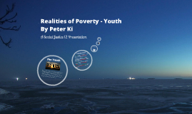 Realities of Poverty - Youth