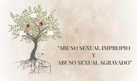 """Abuso sexual impropio"