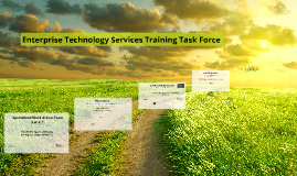 ETS training task force presentation