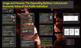 Image and persona: The Expanding Political Cultural and Economic Value of the Public Individual