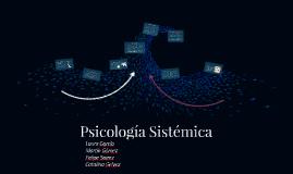 Psicología Sistémica