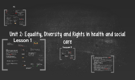 Copy of Unit 2: Equality, Diversity and Rights in health and social