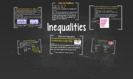 Copy of Inequalities