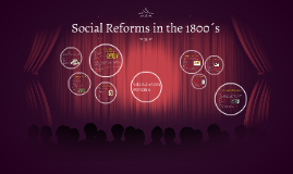 Social Reforms in the 1800´s