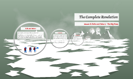The Complete Revelation: Lesson 6, Exile and Return - the Big Story