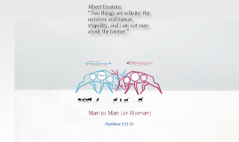 Man to Man (or Woman)