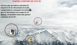 Copy of PARTES COMUNES DE UNA PC