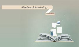 Allusions: Fahrenheit 451