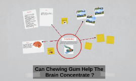 Can Chewing Gum Help The Brain Concentrate ?