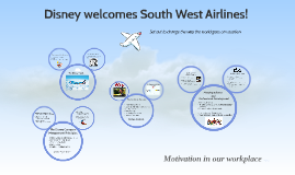 Disney welcomes South West Airlines!
