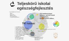 Copy of Teljeskörű iskolai egészségfejlesztés