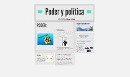 Poder y politica