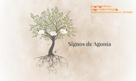 Signos de Agonía