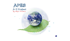 Copy of APES A-Z Project