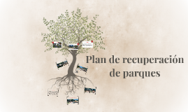 Plan de recuperación de parques