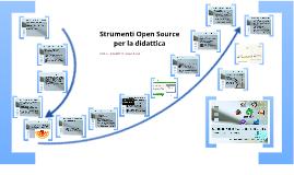 Strumenti Open Source per la didattica