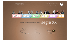 Copy of Literatura del segle XX: Context