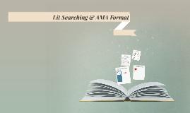 ATTR 362: Lit Searching & AMA Format