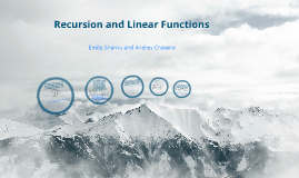 recursion and Linear Functions