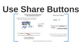 Use Share Buttons for Twitter