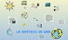 La hipótesis de Gaia